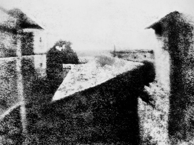 The world's first photograph