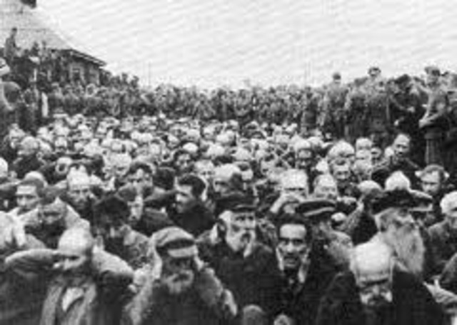 The inmates at Sobibor initiate an armed rebellion.