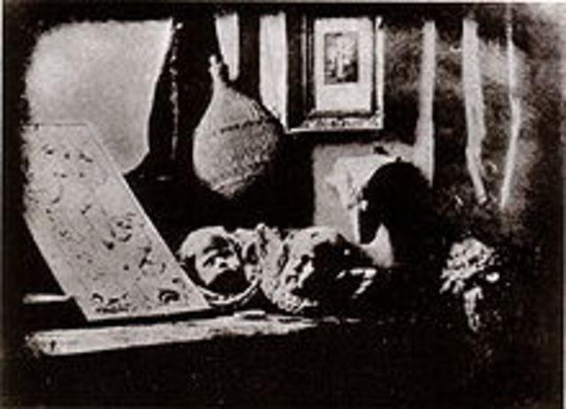 Daguerrotype photographs
