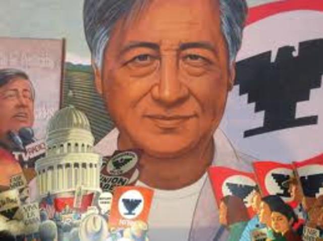 CESAR CHAVEZ WAS BORN
