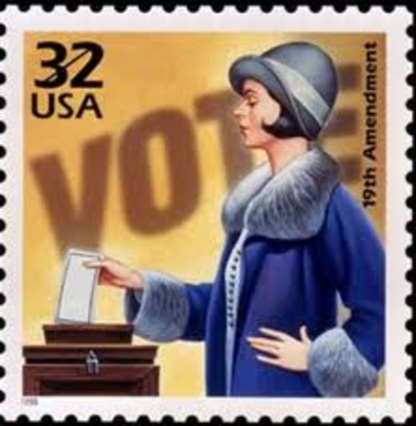 THE 19TH AMENDMENT WAS PASSED