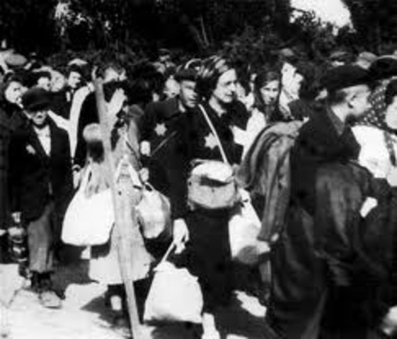 The Chelmno death camp opens near Lódz, Poland and the first gassing of victims in mobile gas vans occurs.