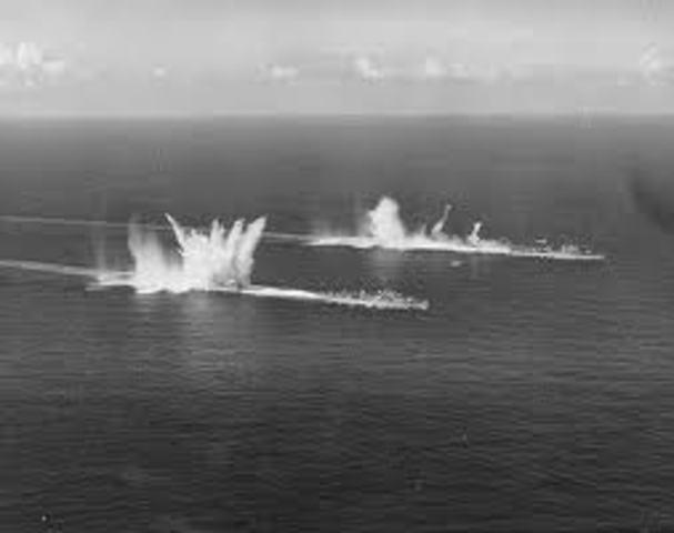German submarines cease-fire