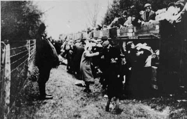 The Chelmno death camp...