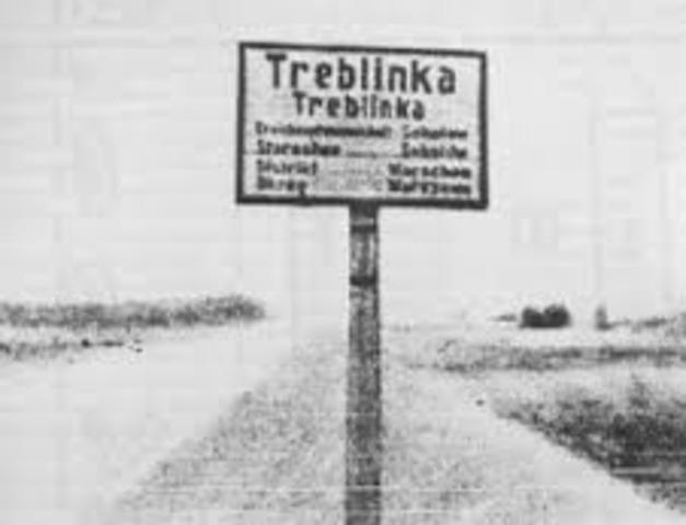 Treblinka death camp opens
