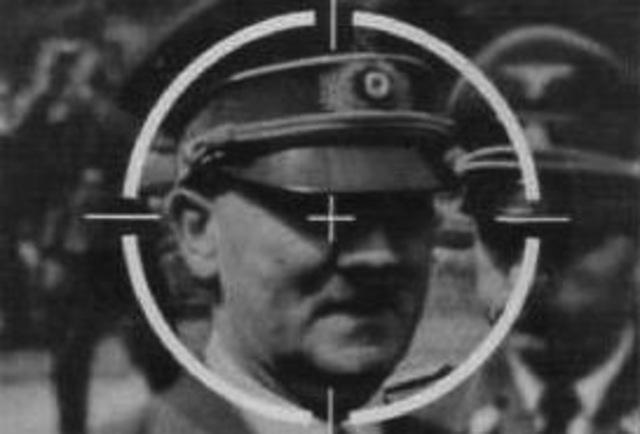 German officers...