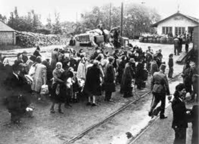 The Nazis begin deportation of Hungarian Jews.