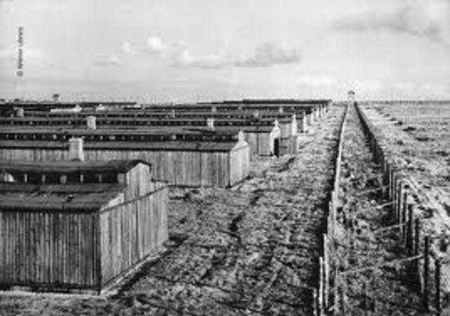 Soviet Army liberates one concentration camp.