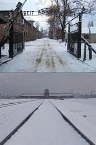 Construction begins on Birkenau, an addition to the Auschwitz camp. Birkenau includes a killing center which begins operations in early 1942.