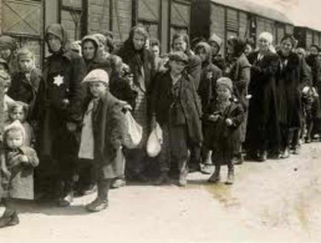 The Nazis begin deportation of Hungarian Jews. Over 430,000 Jews are sent to Auschwitz-Birkenau where most are gassed