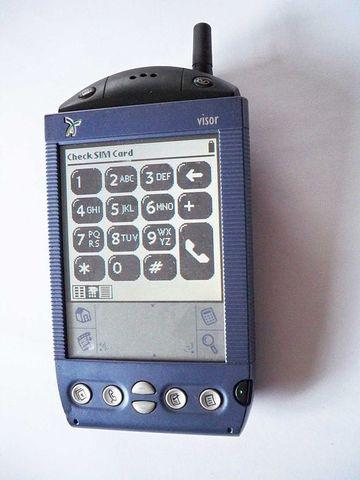 First PDA Phone