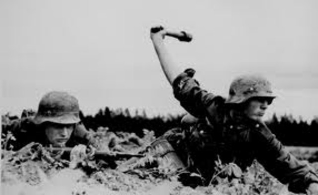 The German army invades the Soviet Union. The Einsatzgruppen, mobile killing squads, begin the mass murder of Jews, Gypsies, and Communist leaders.