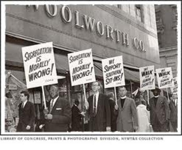 non-violent protest
