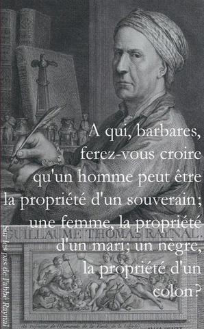 Décès de Guillaume-Thomas Raynal