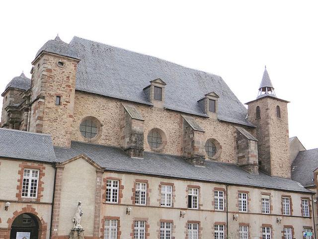 Entrée au Collège des Jésuites à Rodez