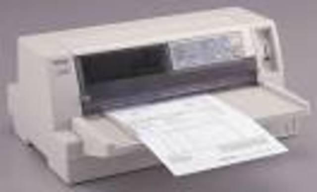 Grobe Grafikdarstellung mit Matrixdrucker