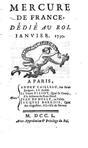 Direction du Mercure de France