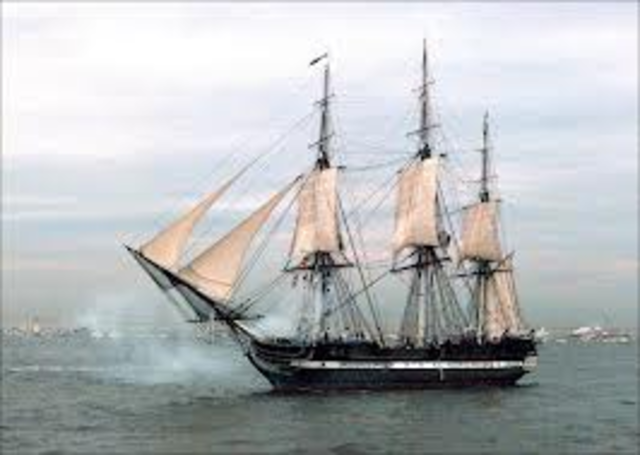 USS Constitution Scores a Victiory