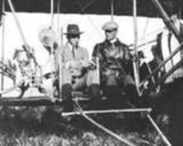 Airplane invented by the Wright Brothers