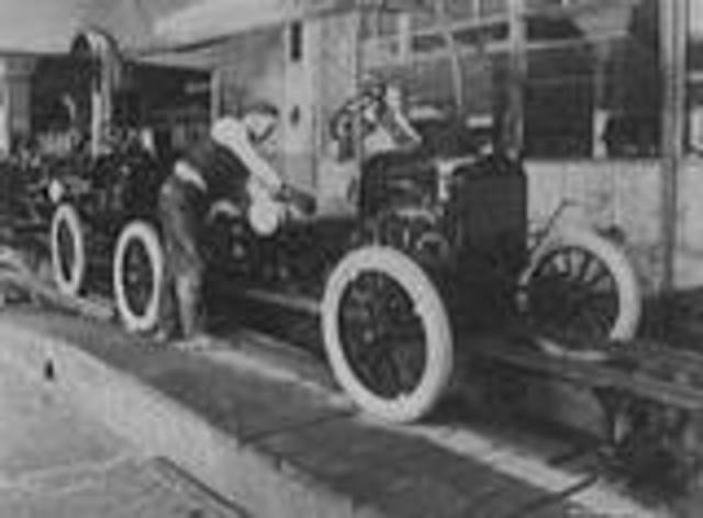 Model T invented by Henry Ford