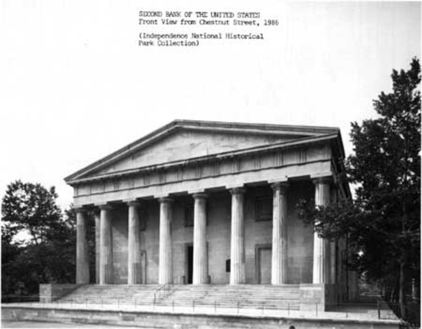 Second Bank of the United States established