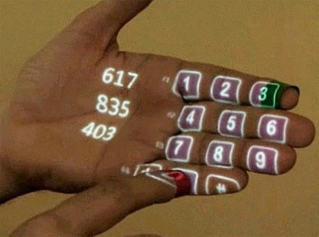 Computer interface- the Sixth Sense