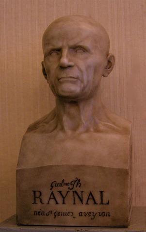 Le buste de l'abbé Raynal
