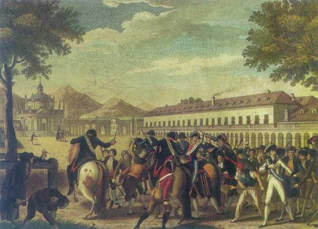 The Mutiny of Aranjuez