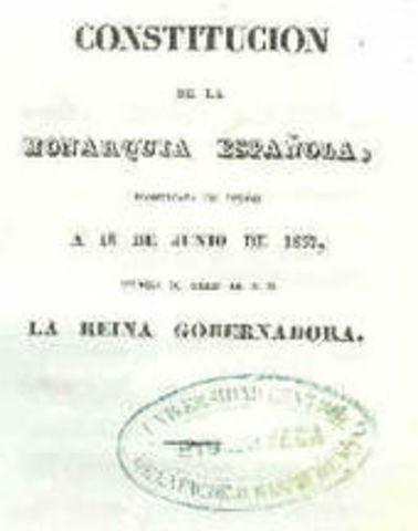 the Spanish Constitution of 1837