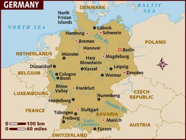 Germany - Germany launches the spring offensive.
