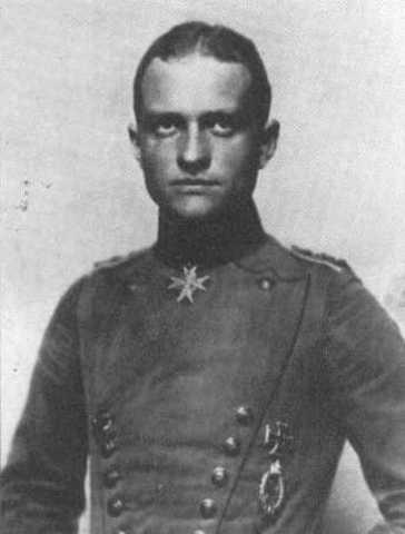 Germany - Germanys flying sce manfred von richthofen is shot down.
