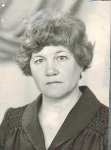 Носкова Мария Ефимовна