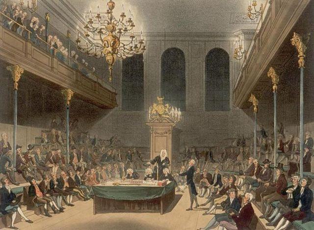 Assemblée des Communes à Londres