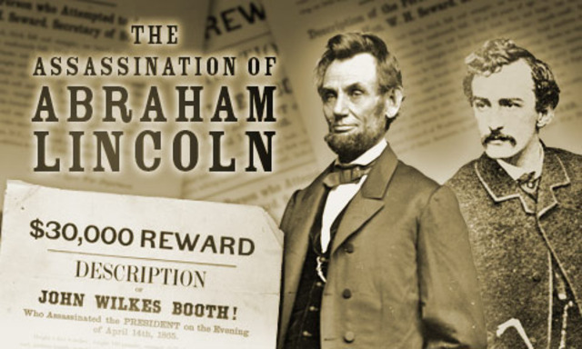 President Lincoln is Killed by Assassin's Bullet