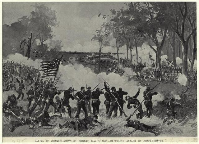 Lee wins Chancellorsville, but at a high cost