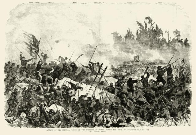 Vicksburg falls to the Union