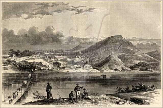 Union captures Chattanooga