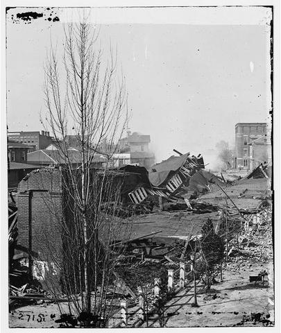 General William T. Sherman captures Atlanta