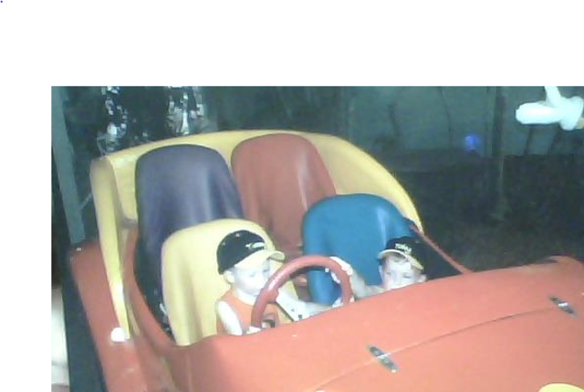 On the Wiggles Car!