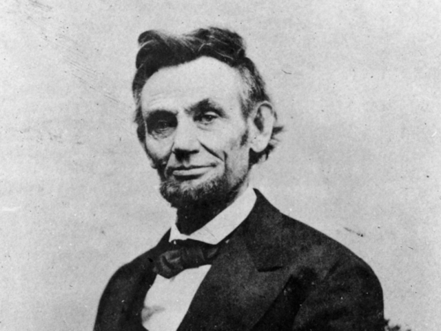 President Lincoln re-elected