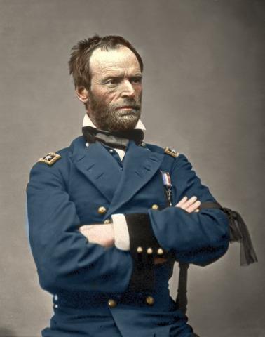 William T. Sherman's troops begin their march through Georgia