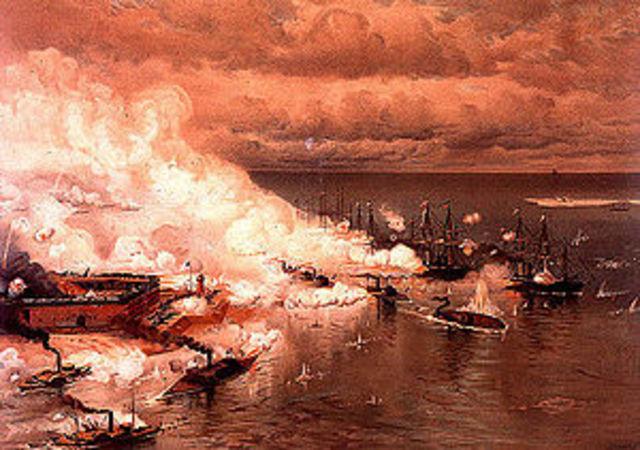 Farragut captures Mobile Bay