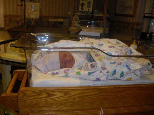 My very 1st nephew was born.