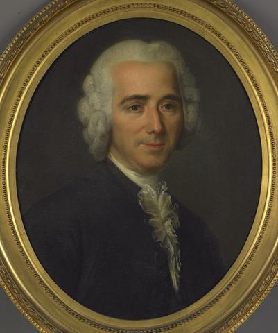 Gabriel Lemoniner peint l'abbé Raynal