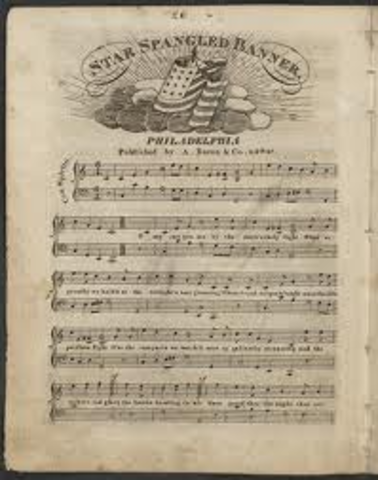 Writing  of the Star-Spangled Banner