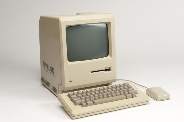 •The Apple Macintosh invented.