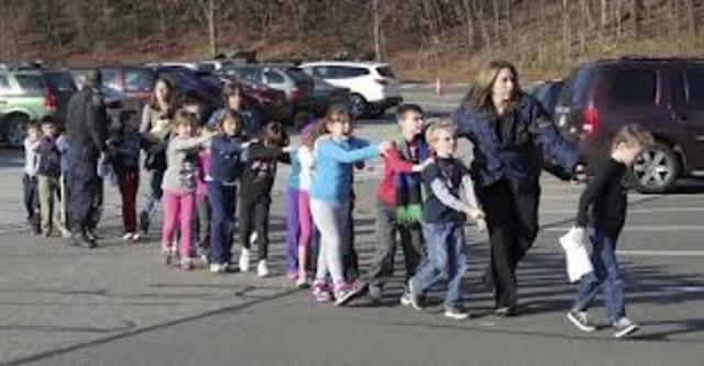 School shooting?!