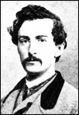 John Wilkes Booth gets capturedd and killed