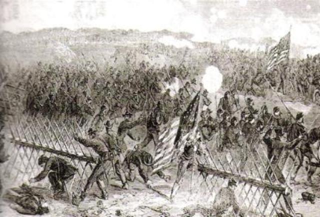Federals Take Petersburg
