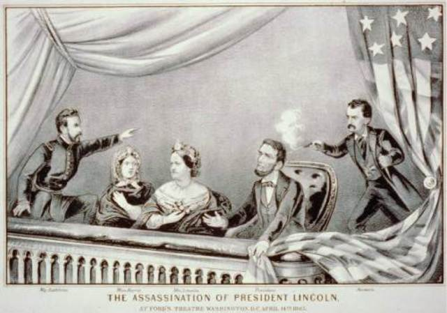 Lincoln Shot April 14 Died April 15